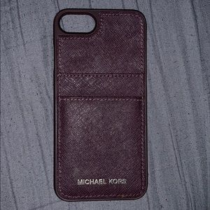 Michael Kors iPhone 7  card holder case